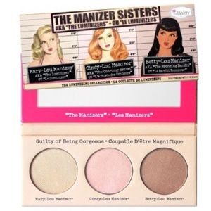 2/$35  The Balm Manizer Sisters Face Palette New